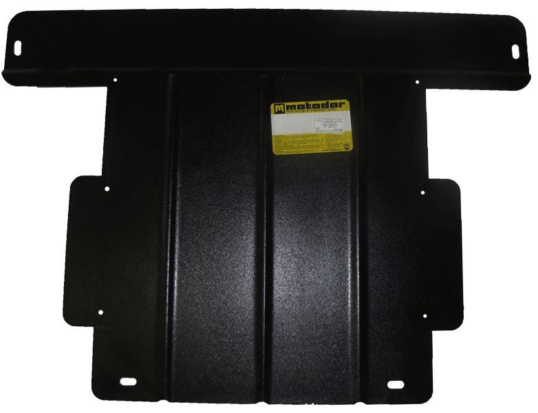 Защита картера двигателя, КПП Mazda Xedos 9 1992-1995 V=2.3 2.5 (сталь 2 мм), MOTODOR01109