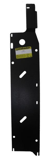 Защита топливных трубок Nissan X-Trail II 2007-2014 V=2,5 (сталь 3 мм), MOTODOR11408