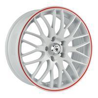 Колесный диск Konig S895 7x17/5x105 D67.1 ET40 белый с красной полосой по ободу (WRL)