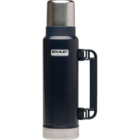 Термос STANLEY 1.3L Classic Vac Bottle Hertiage Темно-Синий, 1001032043