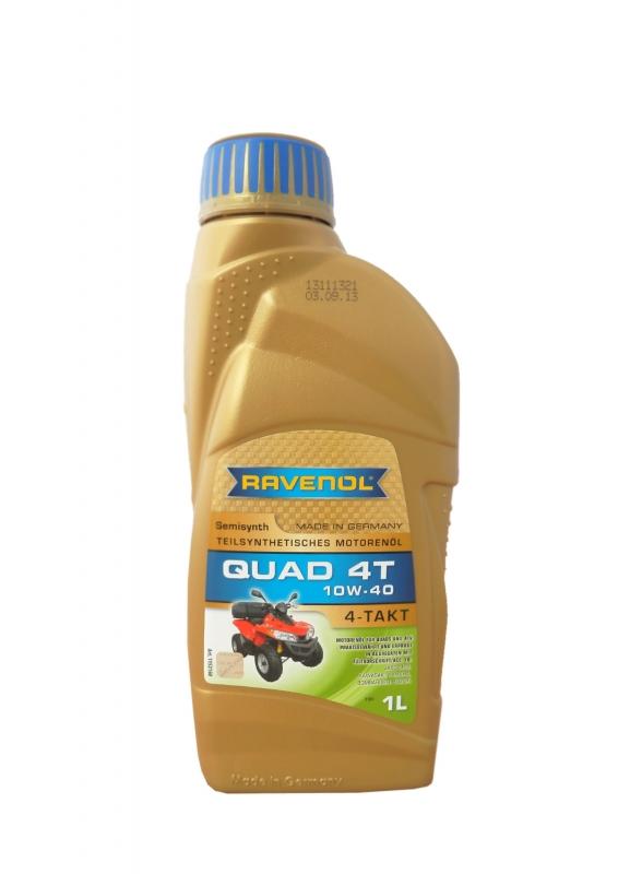 Моторное масло RAVENOL Quad 4T, 10W-40, 1л, 4014835771116