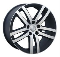 Колесный диск Ls Replica VW88 9x20/5x130 D71.6 ET57 черный с дымкой полированный (MBF)