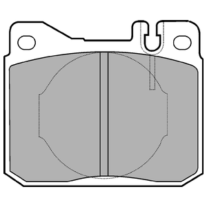 Колодки дисковые, DELPHI, LP221