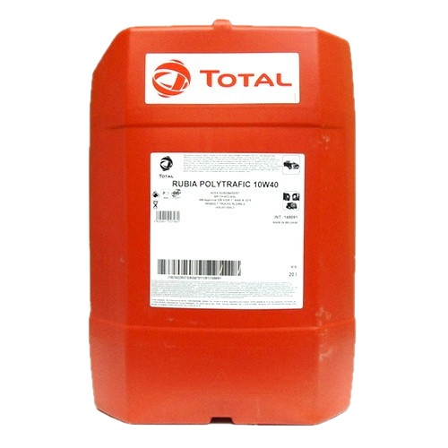 Моторное масло TOTAL RUBIA POLYTRAFIC, 10W-40, 20л, 149091