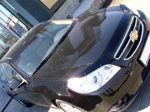 Дефлектор капота Chevrolet Epica (2006-) (темный), SCHEPI0612