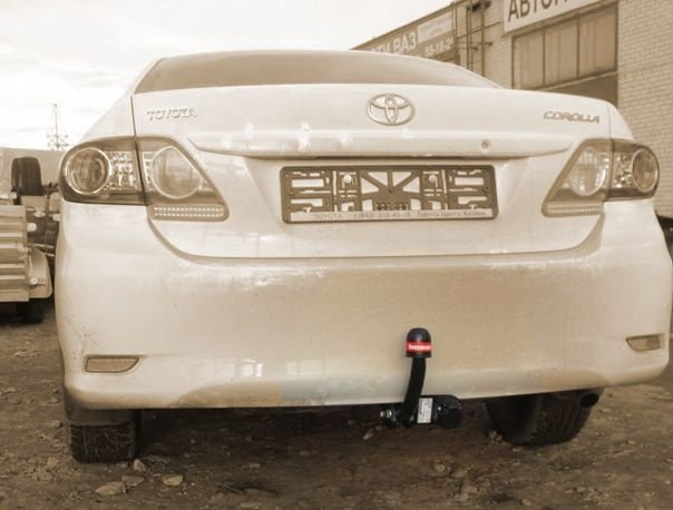 Фаркоп для Toyota Corolla (Тойота Королла) (2007-2013-) (без электрики), BOSAL, 3087A
