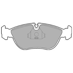 Колодки дисковые, DELPHI, LP839