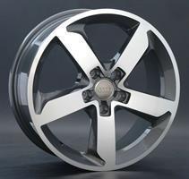Колесный диск Ls Replica A52 7x17/5x112 D66.6 ET37 насыщенный темно-серый полностью полированный (GM