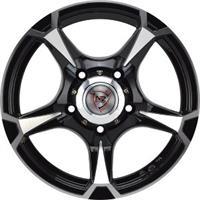 Колесный диск NZ SH659 8x16/5x139,7 D100.1 ET0 черный полностью полированный (BKF)