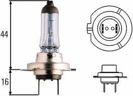 Лампа, 12 В, 55 Вт, H7, HELLA, 8GH 007 157-126