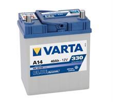 Аккумулятор VARTA Blue Dynamic 40 А/ч 540126 узк кл ОБР  A14 187x127x227 EN 330