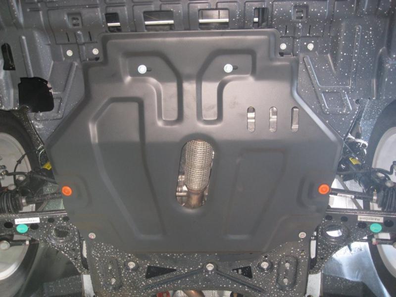 Защита картера двигателя и кпп Opel Mokka V-все (2012-) (Сталь 1,8 мм), 13807C2