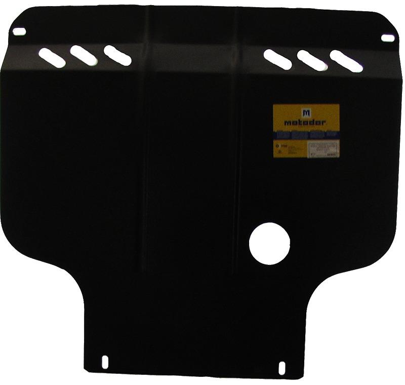 Защита картера двигателя, КПП HONDA LOGO (GA3) 1999-2002 все объемы (сталь 2 мм), MOTODOR00809