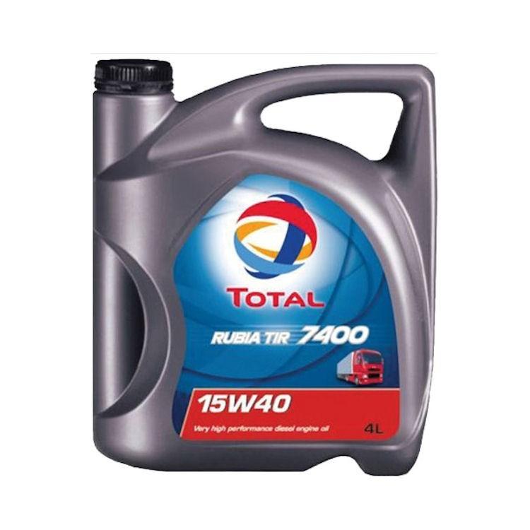 Моторное масло TOTAL RUBIA TIR 7400, 15W-40, 5л, 148585
