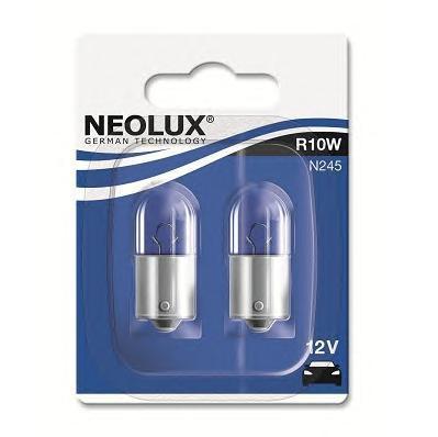 Лампа, 12 В, 10 Вт, R10W, BA15s, NEOLUX, N245-02B