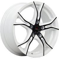 Колесный диск Yokatta MODEL-36 6.5x16/5x105 D66.6 ET39 белый +черный (W+B)