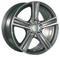Колесный диск Ls Replica A62 7x16/5x112 D66.6 ET46 насыщенный темно-серый полностью полированный (GM