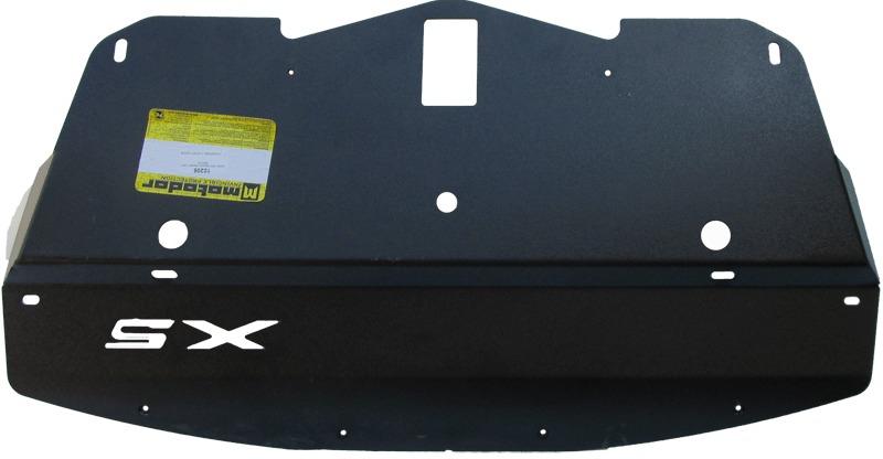 Защита радиатора BMW X5 M кузов E70 2009- V=3,5i, 3,0TD (сталь 3 мм), MOTODOR10206