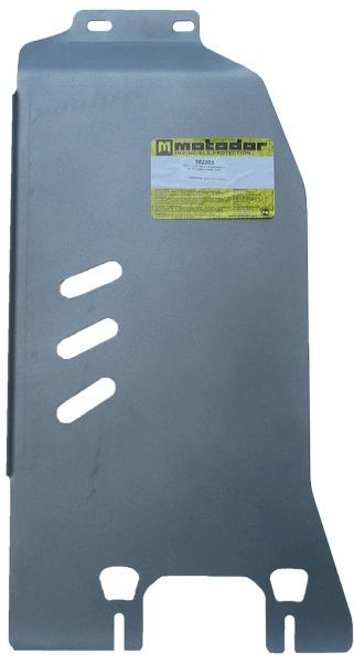 Защита картера КПП Subaru Forester III 2008-2012 V=2,0, 2,5 (алюминий 8 мм), MOTODOR382203