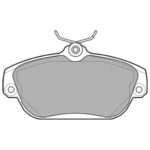 Колодки дисковые, DELPHI, LP919