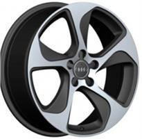 Колесный диск Ls Replica A76 8x18/5x112 D66.6 ET39 серый матовый, полностью полированный (GMF)