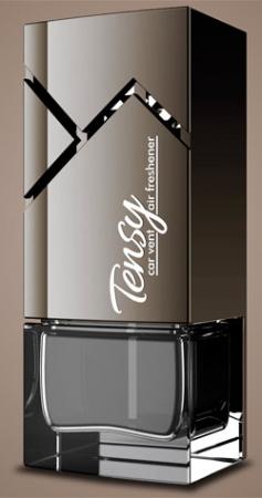 """Ароматизатор Tensy жидкая основа,, Модель Токио, """"Черный лед"""" с пробником, TKA03"""