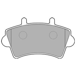 Колодки дисковые, DELPHI, LP1746