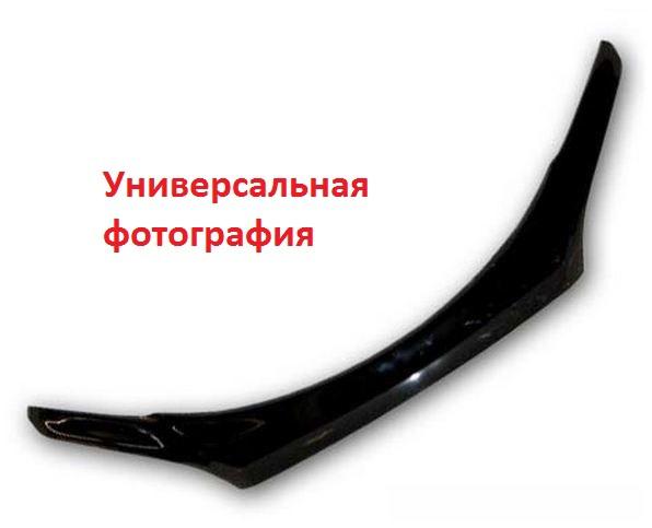 Дефлектор капота Chevrolet Aveo (Шевроле Авео) Хэтчбек (2008-2011) (темный), SCHAVEH0812