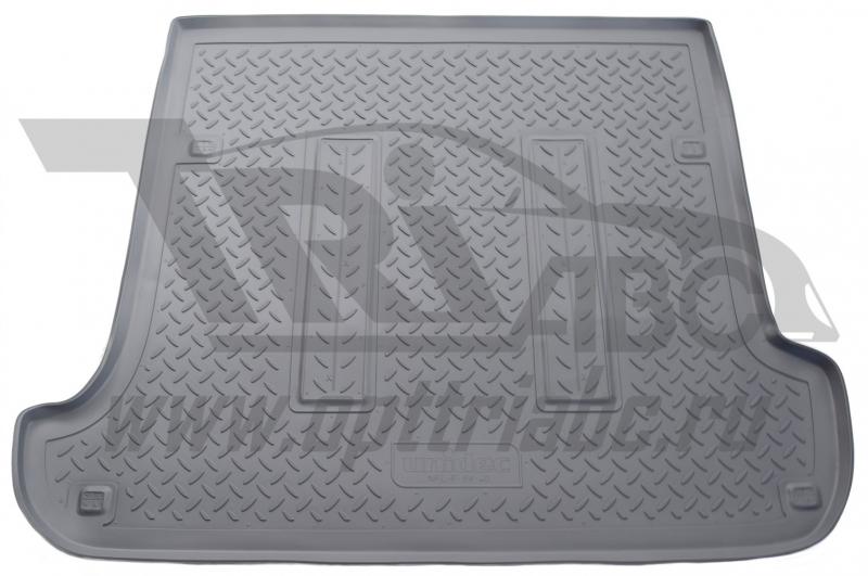 Коврик багажника для Toyota Land Cruiser (Тойота Ленд Круизер) Prado 120/ Lexus GX 470 (2002-) (серы