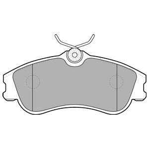 Колодки дисковые, DELPHI, LP1624