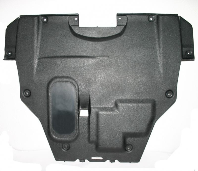 Защита картера двигателя и кпп Mazda (Мазда) 6; V- 1,8;2,0 (2007-2012) (Композит 6 мм), 1201K