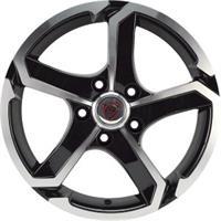 Колесный диск NZ SH665 6x15/4x100 D54.1 ET48 черный полностью полированный (BKF)