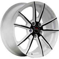 Колесный диск Yokatta MODEL-27 6x15/4x100 D60.1 ET36 белый +черный (W+B)