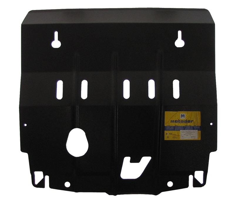 Защита картера двигателя, КПП Renault Koleos 2008- V= все (сталь 2 мм), MOTODOR01714