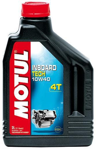 Масло моторное MOTUL Inboard Tech 4T, 10W-40, 2л, 101751