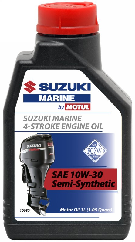Масло моторное MOTUL Suzuki Marine 4T, 10W-30, 1л, 103084