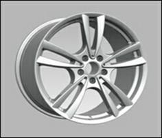 Колесный диск Ls Replica B97 10x20/5x120 D60.1 ET40 серебристый (S)