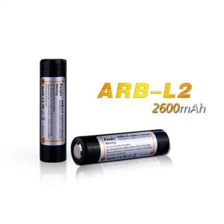 Аккумулятор Fenix, 18650 Li-ion 2600 mAh, защищенный, ARBL2
