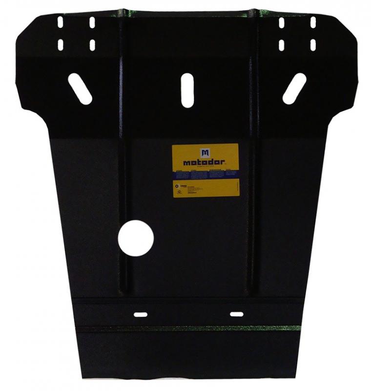 Защита картера двигателя, КПП MB E, W124 V=4,2 (1993-1995)(сталь 2 мм), MOTODOR01202