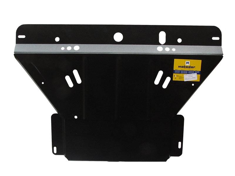Защита картера двигателя, КПП SAAB 9000 1988-1998 V=2,3Т 2.0 (сталь 2 мм), MOTODOR01807