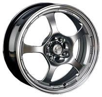 Колесный диск LS Wheels LS K218 7x16/5x114,3 D70.1 ET40серебристы с полированным ободом (HPL)