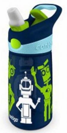 Детская бутылка для воды Contigo Striker, темно-синяя, 420 мл, 10000347