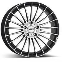 Колесный диск Aez Диск колёсный литой Valencia dark 7x17/5x114,3 D71.6 ET48 черный (BK)