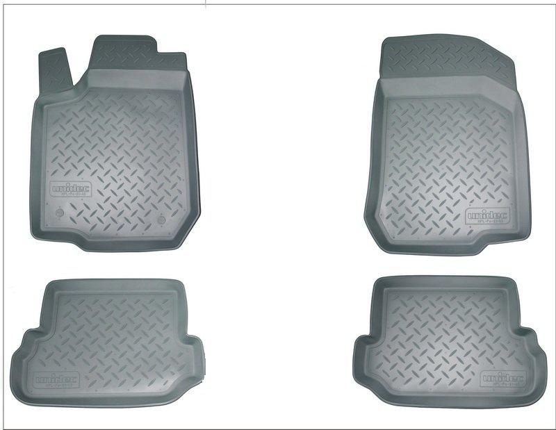 Коврики салона для Honda (Хонда) Accord (2013-) (серые), NPA10C30010GREY