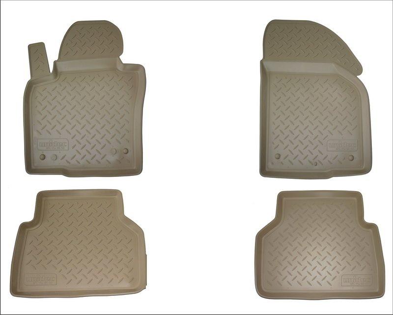 Коврики салона для Mercedes-Benz C (W205) (2014-) Бежевый, NPA10C56192BEIGE