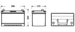Аккумулятор DETA POWER 12V 95AH 720A ETN 0(R+) Kor