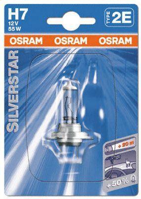 Лампа, 12 В, 55 Вт, H7, PX26d, BOSCH, 1 987 302 178