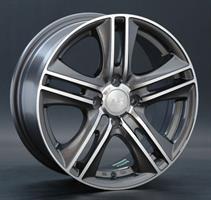 Колесный диск LS Wheels LS 191 6.5x15/4x114,3 D110.1 ET40 серый матовый полностью полированный (GMF)