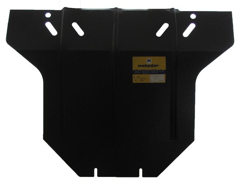 Защита картера двигателя, КПП SUZUKI WAGON R+ (EM) 1997-2000 все объемы (сталь 2 мм), MOTODOR02404