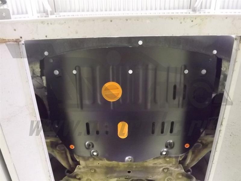 Защита картера двигателя и кпп Renault Master (Facelift)V-2.3 D (2014-) (Сталь 1.8 мм), 33871C2